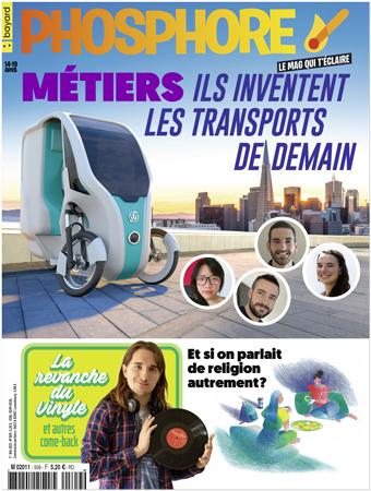 Couverture du magazine Phosphore n°509, 1er mai 2021.
