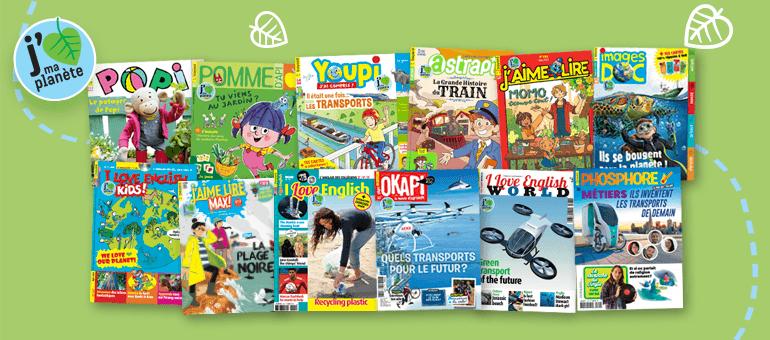 Magazines Bayard Jeunesse - J'aime ma planète - mai 2021