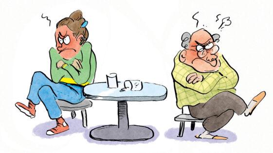 Pourquoi les vieux adorent critiquer les jeunes (et vice-versa)?