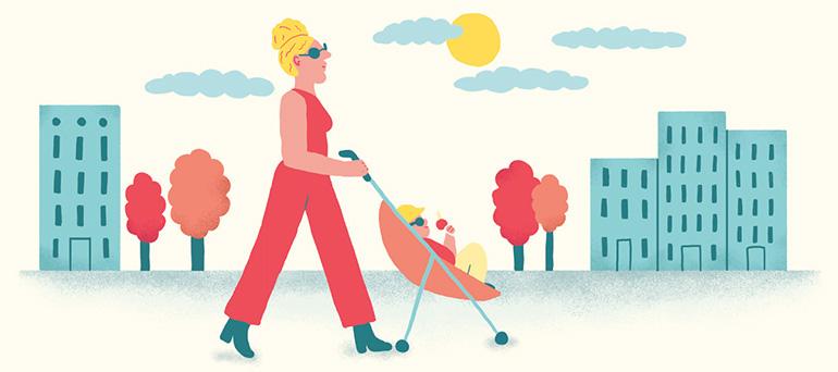 Inventer sa propre recette du bonheur en vacances. Illustration : Popy Matigot.