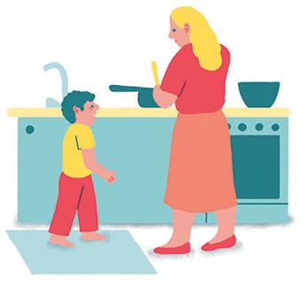 Maman solo : tout faire soi-même. Illustration : Popy Matigot.