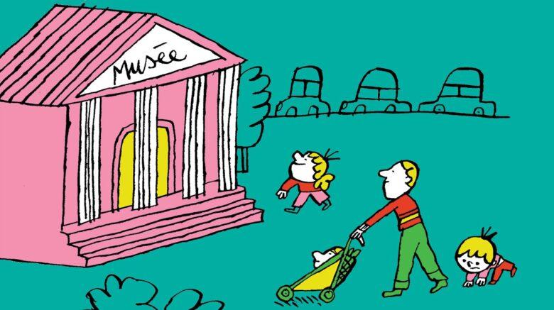 Comment visiter un musée avec un jeune enfant?