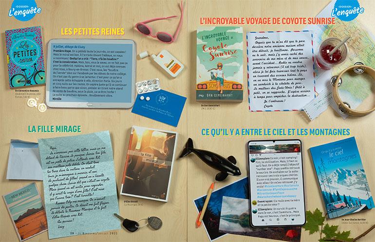 12 romans ados pour l'été - Sélection Je bouquine - Juillet 2021