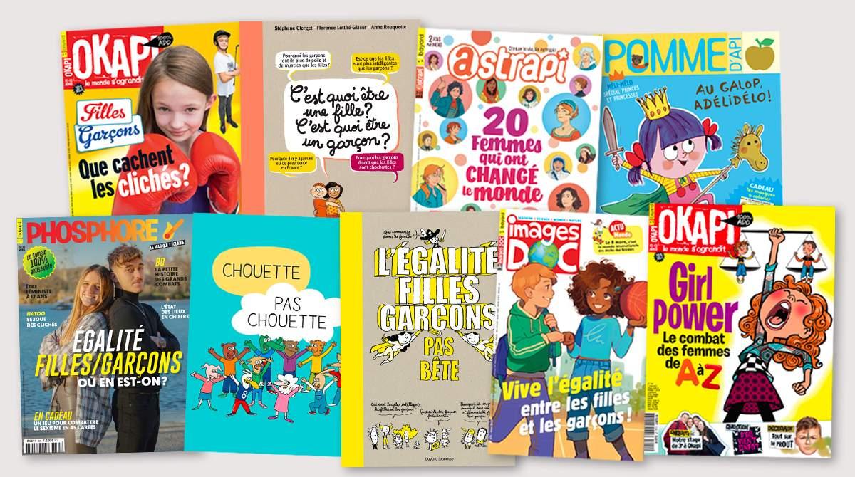 Égalité filles-garçons - Publications Bayard Jeunesse