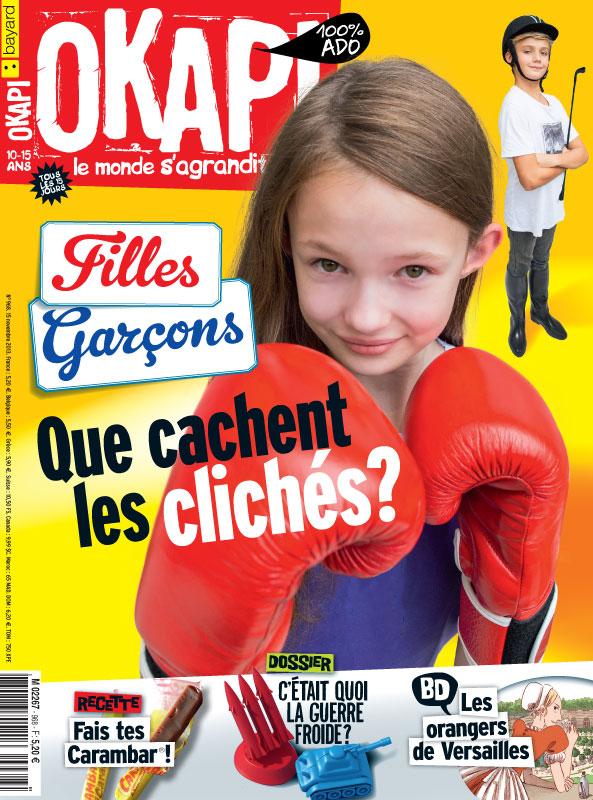 Filles-garçons : que cachent les clichés ? Okapi n° 968, 15 novembre 2013