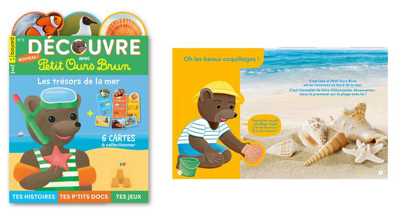 """""""Découvre avec Petit Ours Brun - Les trésors de la mer"""" - Dès 2 ans"""