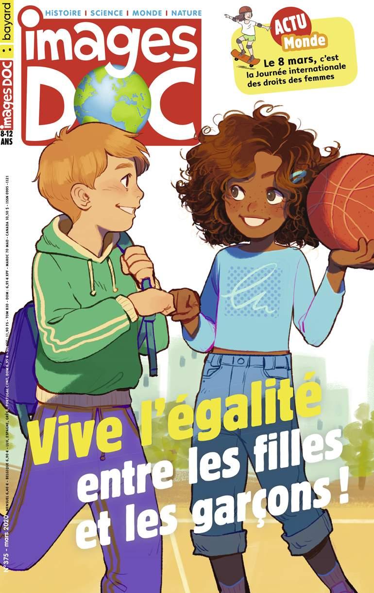 Couverture du magazine Images Doc n°375, mars 2020