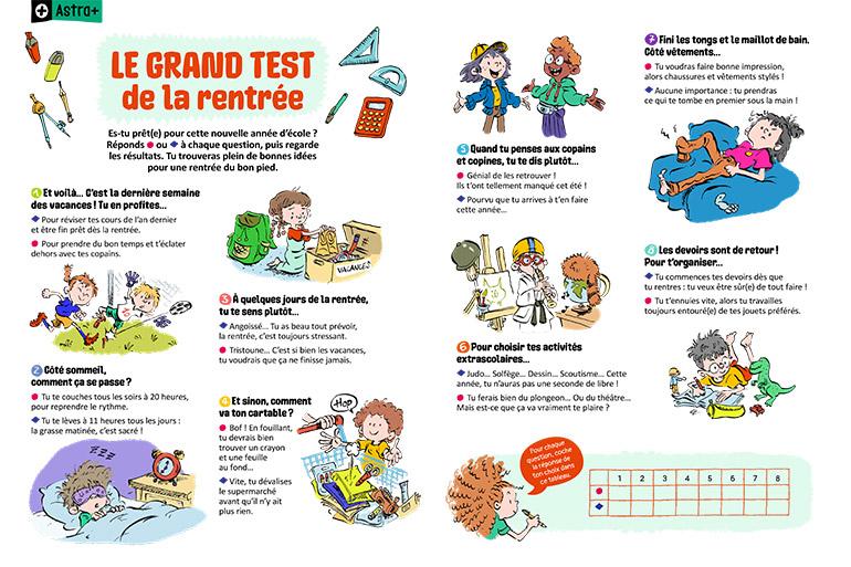 """""""Le grand test de la rentrée"""" : 8 questions pour savoir si tu es prêt(e) pour une nouvelle année d'école"""