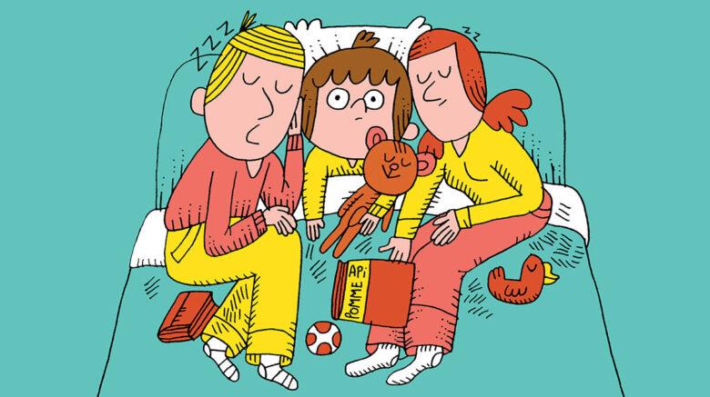 Comment aider votre enfant à s'endormir tout seul?