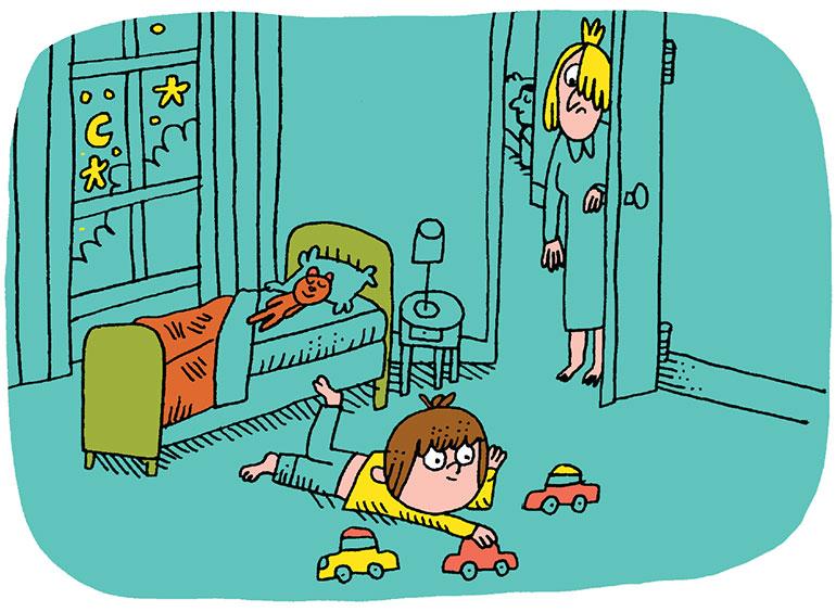 """Problèmes de sommeil de mon enfant : """"J'éprouve un sentiment d'impuissance"""". Illustration : Charles Dutertre."""