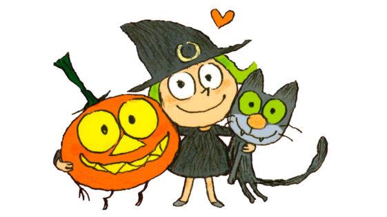 Zouk, la petite sorcière qui a du caractère!
