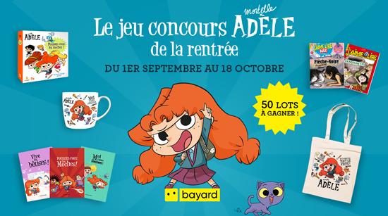 Le jeu concours Mortelle Adèle de la rentrée !