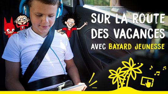 Occupez vos enfants pendant les trajets de l'été
