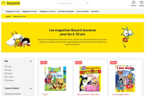 Bienvenue sur le nouveau site de Bayard jeunesse !