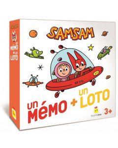Jeu - SamSam - Loto et Mémo