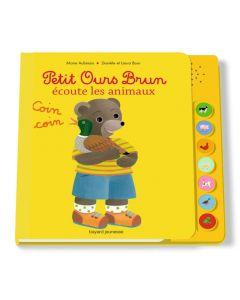 Livre sonore - Petit Ours Brun et les animaux
