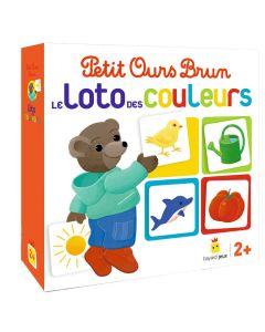 Jeu - Petit Ours Brun - Le loto des couleurs