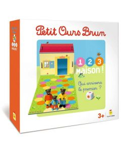 Jeu - Petit Ours Brun -  1 2 3 Maison