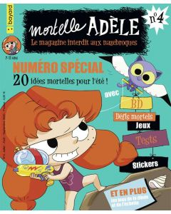 Magazine - Mortelle Adèle, le n°4 !