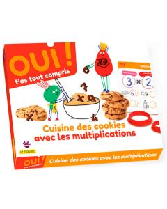 Box maths - Multiplications et cookies !