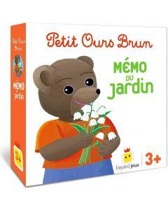 Jeu - Petit Ours Brun - Le mémo du jardin