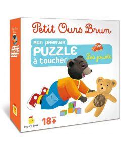 Jeu - Petit Ours Brun  - Puzzle à toucher - Les jouets
