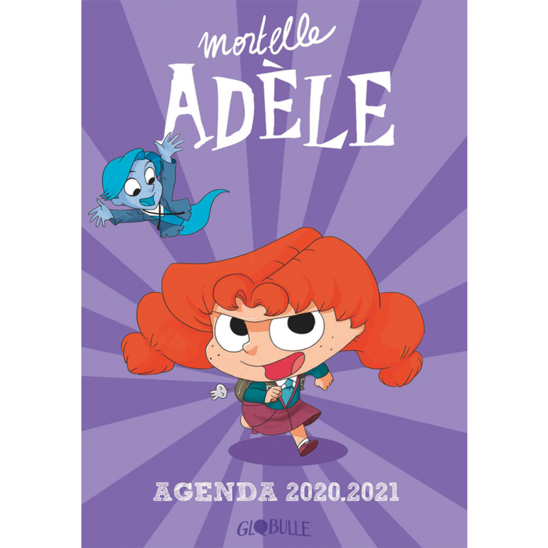 Agenda Mortelle Adèle 20 - 21