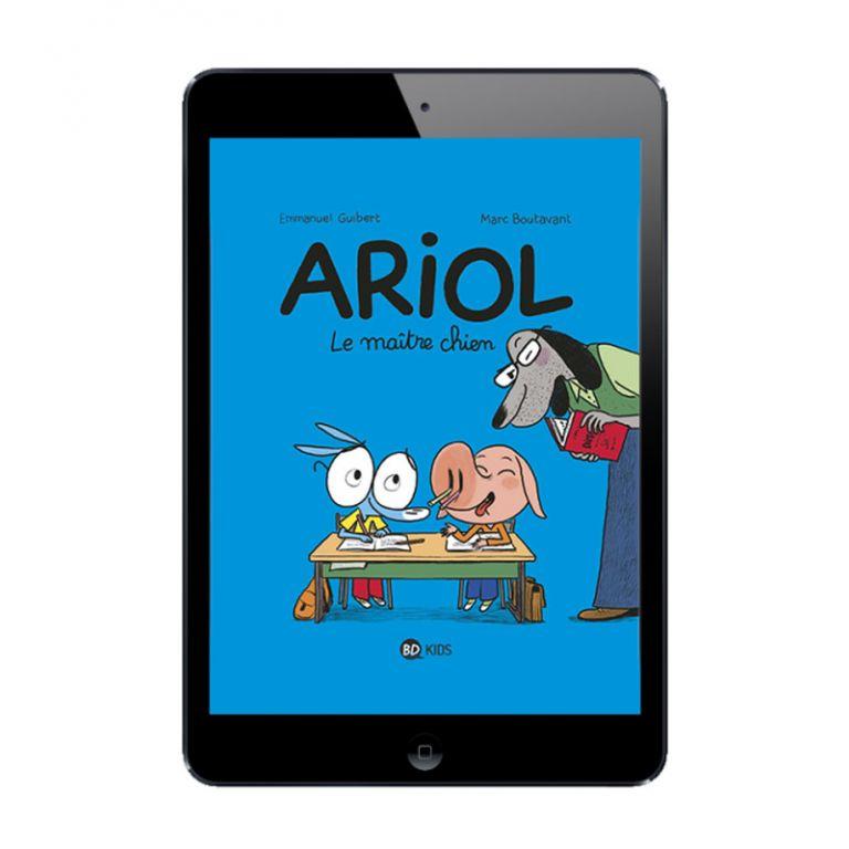 Sélection BD numérique La vie d'Ariol, tome 7 à 12