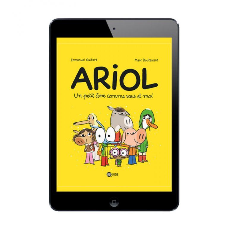 Sélection BD numérique La vie d'Ariol, tome 1 à 6