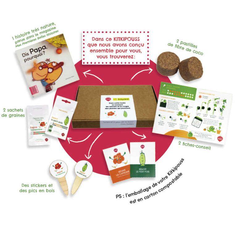 Box Kitkipouss – Petits pois et capucines !