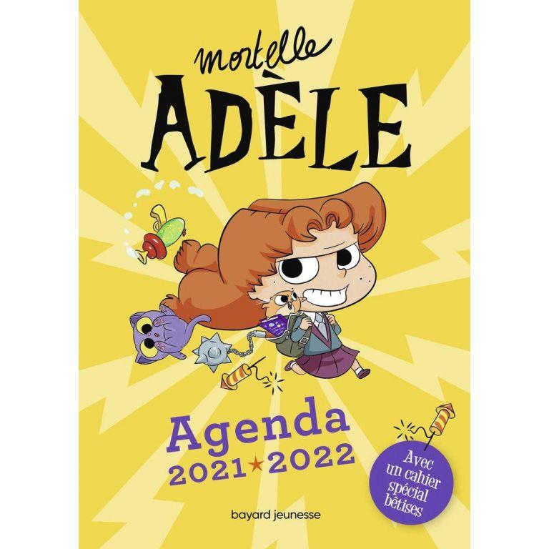 Agenda Mortelle Adèle 21 - 22