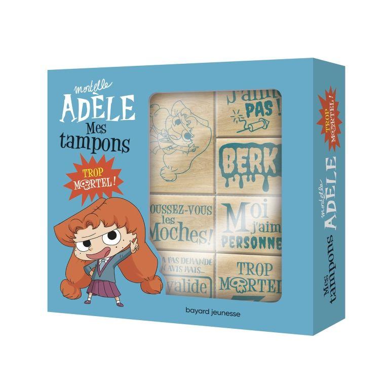 Papeterie - Mortelle Adèle - Set de 7 tampons