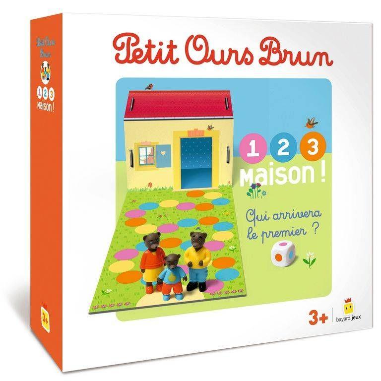 Jeu Petit Ours Brun<br>1 2 3 Maison