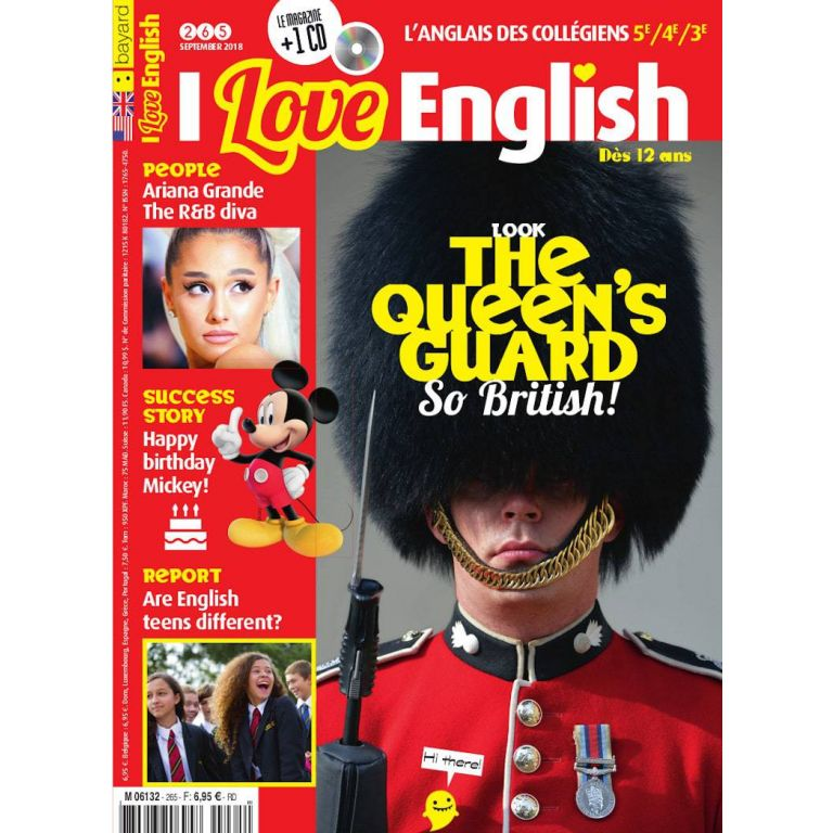Abonnement au magazine I Love English