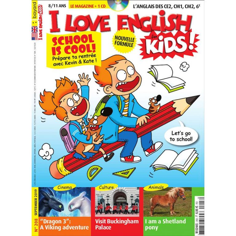 Abonnement au magazine I Love English for Kids