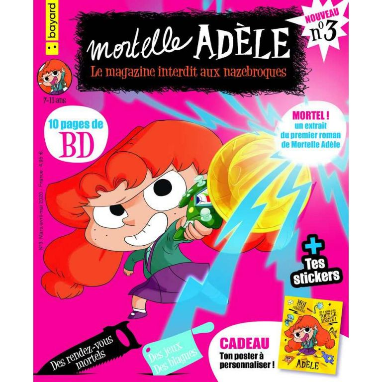 Magazine - Mortelle Adèle, le n°3 !