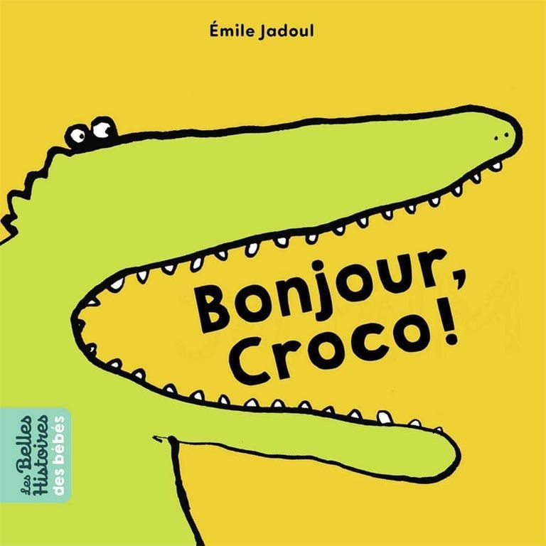 Livre - Bonjour Croco - E. Jadoul