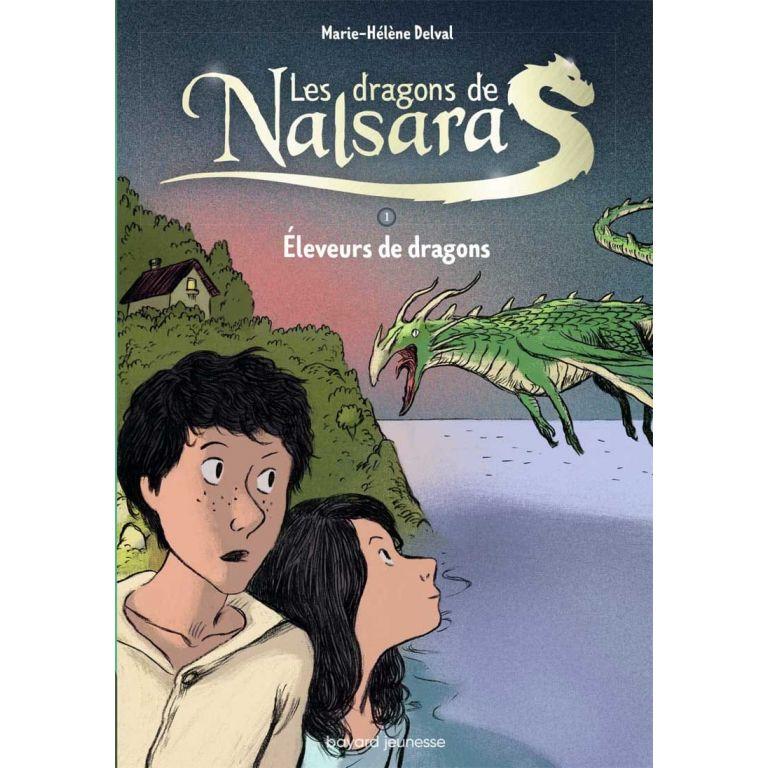 Livre - Les Dragons de Nalsara - Tome 1 - Eleveurs de Dragons - M.-H. Delval