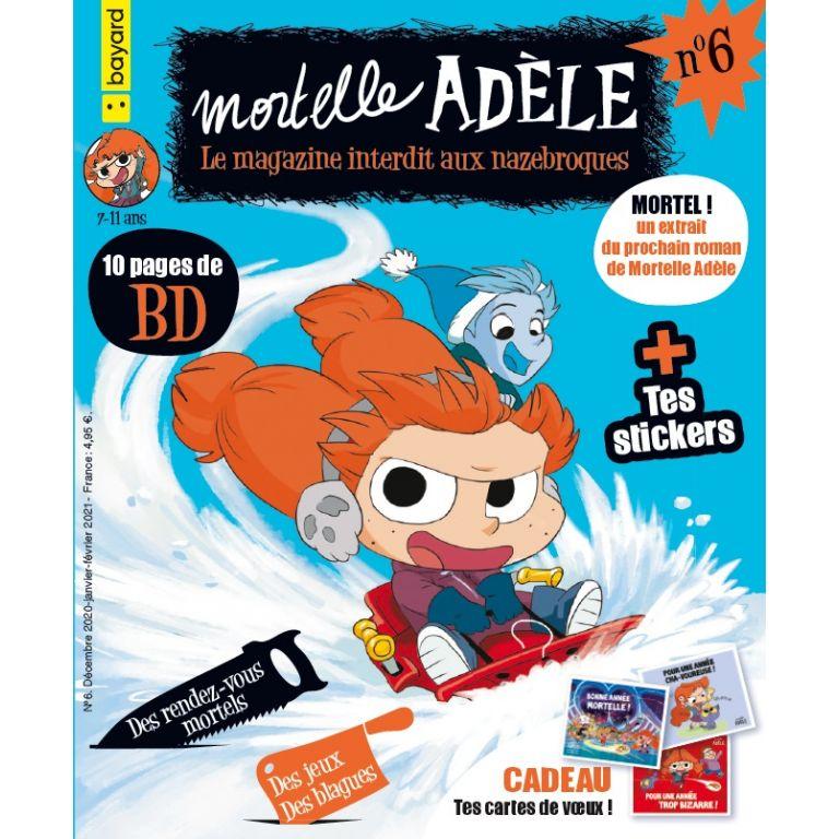 Magazine - Mortelle Adèle, le n°6 !