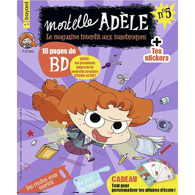Magazine - Mortelle Adèle, le n°5 !