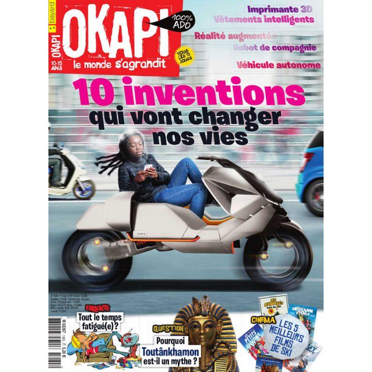 Abonnement au magazine Okapi