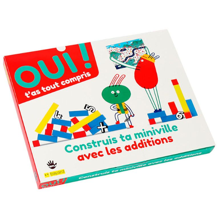 Box maths - Additions et construction !