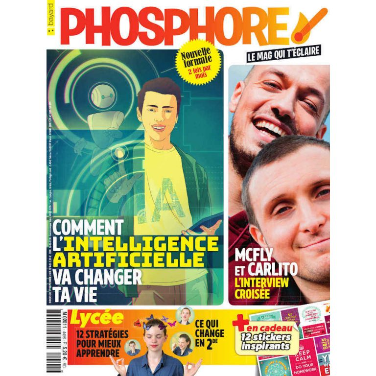 Abonnement au magazine Phosphore