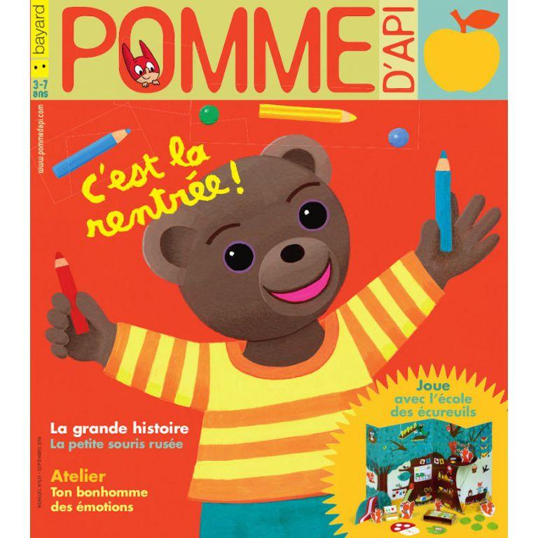 Abonnement au magazine Pomme d'Api