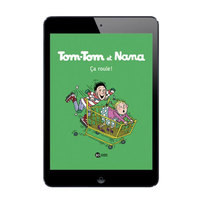 Sélection BD numérique Tom-Tom et Nana, tome 31 à 34
